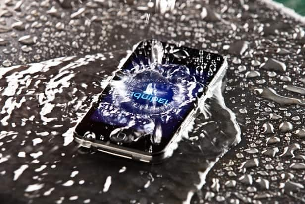 Water cooling smartphone