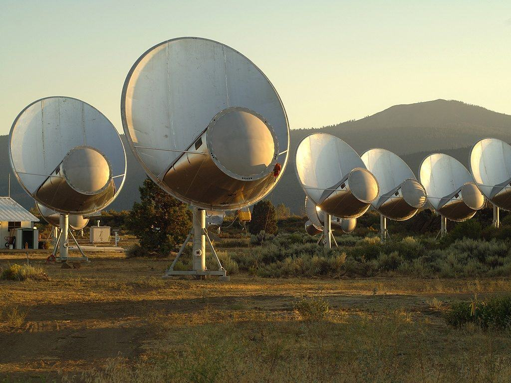 Antenas de Allen Telescope Array