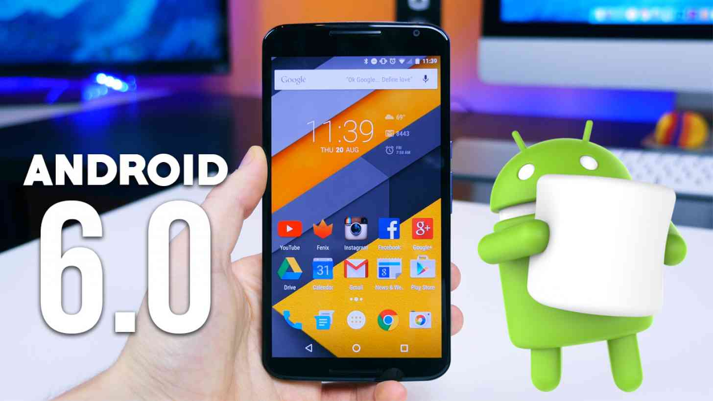 Smartphone con Android 6 Marshmallow