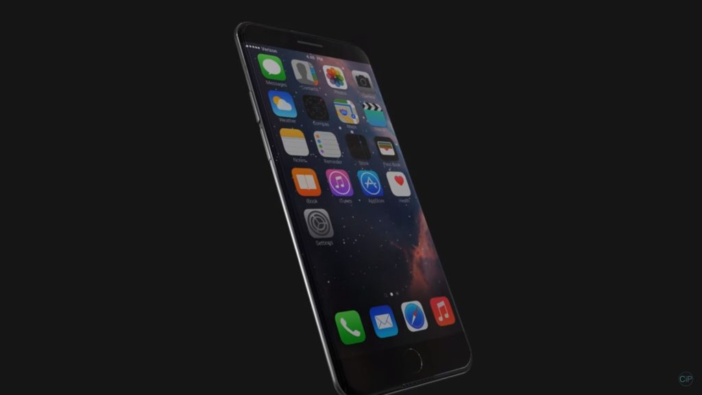 Concepto de iPhone 7 Edge