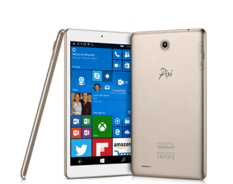 CES 2016: Alcatel OneTouch anuncia un tablet de 8 pulgadas con Windows 10 Mobile