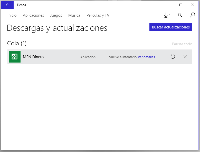 actualizar apps Windows 10