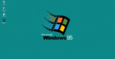 Escritorio de Windows 95