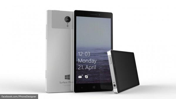 Concepto del Microsoft Surface Phone (Foto: YouTube / PhoneDesigner)