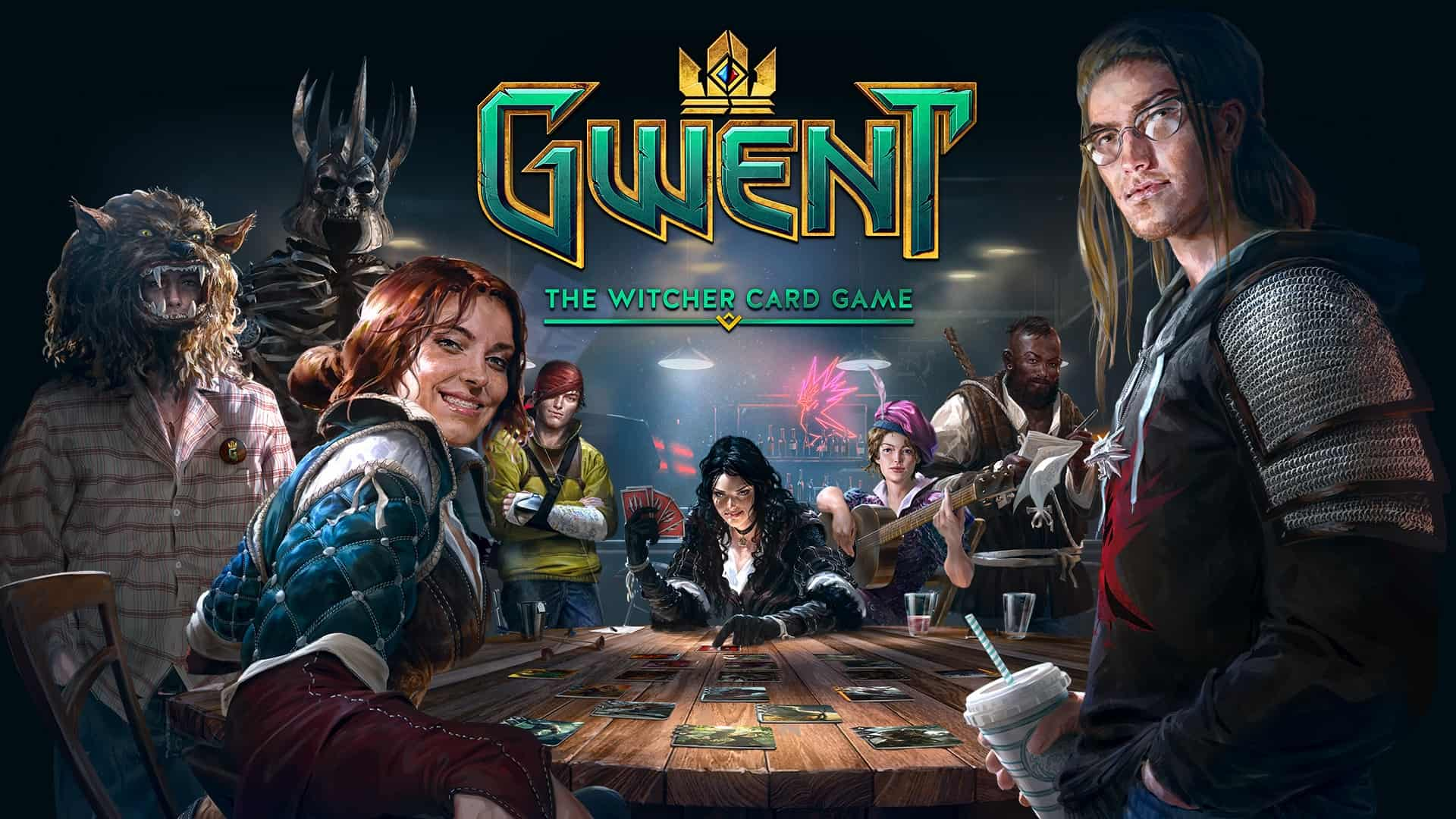 Portada de Gwent: The Witcher Card Game