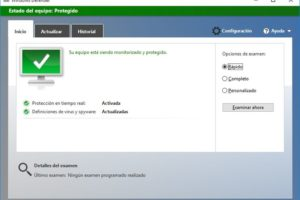 Windows Defender desactivar.