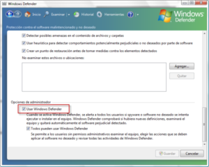 Windows Defender 7.