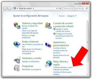 Configurar-Teclado windows 7
