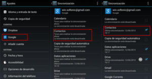 Transferir datos desde Android a Android.