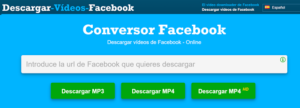 descargar videos de facebook sin programas PC.