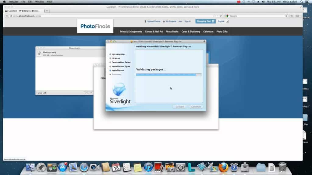 Microsoft Silverlight Mac