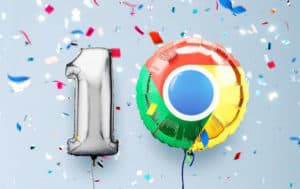 Aniversario de Google Chrome