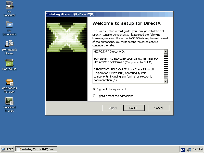 descargar el directx 9 para windows 7