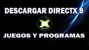 descargar Directx 9 para windows 10