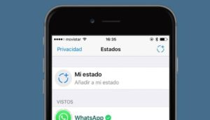 Estados de whatsapp iPhone.