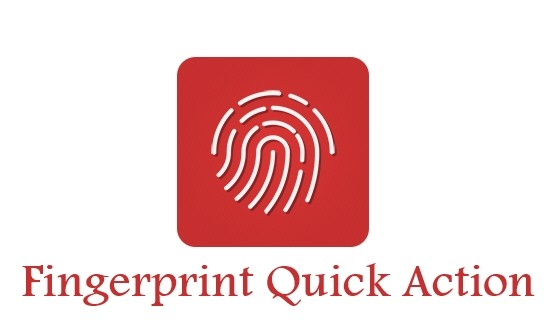 vFingerprint Quick Action