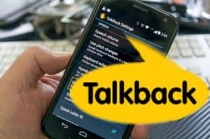 Talkback desactivar iPhone