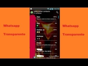 Descargar WhatsApp Transparente Uptodown