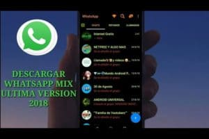 Descargar Whatsapp Mix ultima version