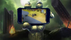 Runescape android.