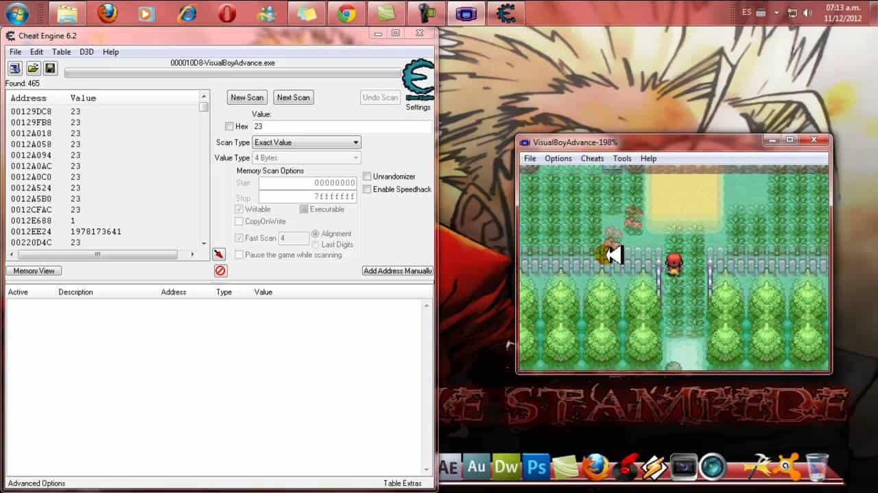 Cheat Engine portable.