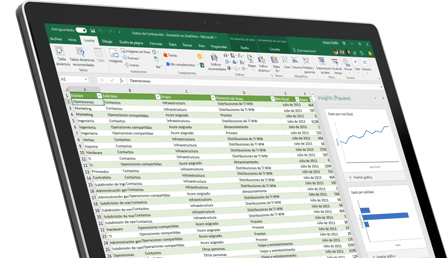 Excel 1.