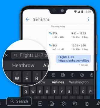 swiftkey disponible para android